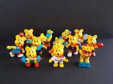 Lot série complète 12 Haribo Ours Sportifs Bear Teddy Allemagne 1996 +BPZ