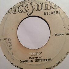 MARCIA GRIFFITHS / JOHNNY OSBOURNE - truly b/w all i have is love - COXSONE