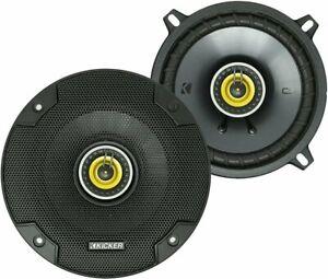 2) Kicker 46CSC54 CS Series 5.25-Inch 2-Way Car Audio Coaxial Speakers