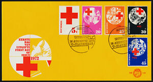 Netherlands 502, B485-8 on FDC - Red Cross