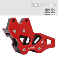 Chain Guard Guide Protector For CRF150F CRF230F 2003-2009 2012-2017 Red