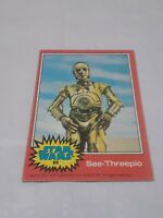 1977 Topps Star Wars Red series #98 See-Threepio