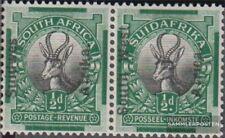 Namibië - Southwest 89-90 horizontaal Echtpaar met Fold 1927 Print editie