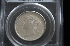 **1870 LCW** PCGS Graded Canadian Silver 50 Cent, **AU-53**
