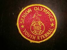 Vintage 1985 SENIOR OLYMPICS Patch NEW! Great addition to your collection