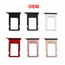 Sim Card Holder Tray Waterproof Gasket Ring for iPhone XS Max XR X 8 7 6S 6 Lot