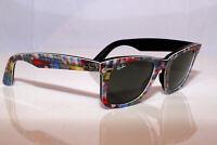 RAY-BAN Mens Womens Sunglasses Blue Wayfarer PRINTS SERIES RB 2140 1135 24180