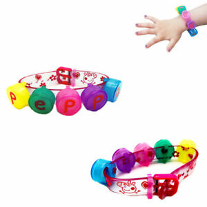 2 x Peppa Pig Lip Balm Kids Mini 5 Balm Gloss Bracelet Girls - Stocking Filler