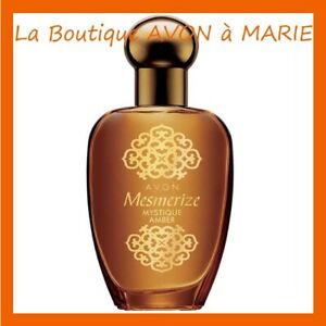 Mesmerize Amber Mystic Her Eau Of Toilette 50ml Of Chez avon