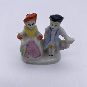 Vintage MIK Hand Painted Japan Victorian Couple Figurine