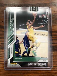 2020-21 Panini Instant Giannis Antetokounmpo NBA All-Star green parallel 2/5