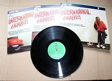 5 lp K-TEL INTERNATIONAL GRAFFITI N. 3 4 9 +  COUNTRY MUSIC  COLONNE SONORE WEST
