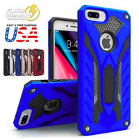 Fits iPhone Heavy Duty Hybrid Armor Rugged Shockproof Kickstand Case Cover