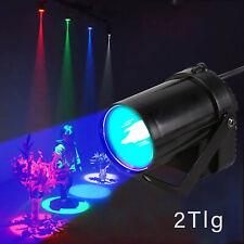 2xMuster Lichteffekt Bühnenbeleuchtung RGB LED Laser DJ Projektor Disco Party