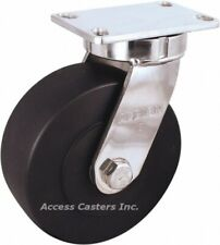 """330NX08528S 8"""" Albion Kingpinless Stainless Steel Swivel Caster 3000 lb Capacity"""