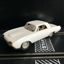 Eldon White Thunderbird 1/32 Scale Slot cars