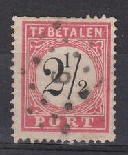 Netherlands Indies Port 5 B type 3 CANCEL CHERIBON (6) Indonesia due portzegel