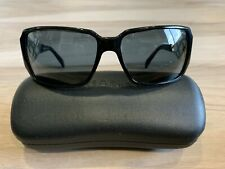 89bff1014eced CHANEL Black Plastic Frame Sunglasses for Women for sale