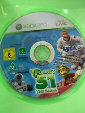 PLANET 51 THE GAME XBOX 360 ORIGINAL AUS PAL CASE & DISC ONLY
