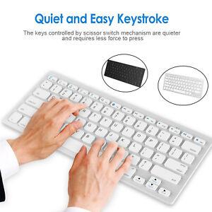Universal Wireless Bluetooth Keyboard Ultra Slim Hebrew English 9.7 inch creativ