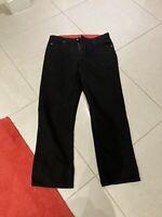 Pierre Cardin Mens Black Cotton Jeans/ Trousers.  Unworn. Size 36 R