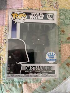 Funko Pop Star Wars Darth Vader in Fist Pose #428 Exclusive