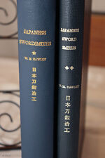 Japanese Swordsmiths From 700-1900. First Edition 2 Vols  1966-1967 W.M. HAWLEY