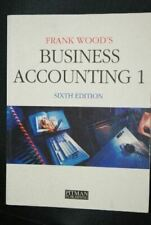 Wood, Frank, Business Accounting: v.1: Vol 1, Very Good, Paperback