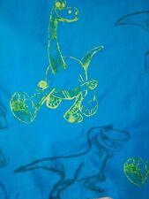 Disney The Good Dinosaur Twin Flat Sheet Bedding Blue Drawn  Characters