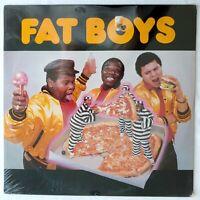 1984 - FAT BOYS - FAT BOYS DEBUT LP - SUTRA RECORDS SEALED ORIGINAL PRESSING