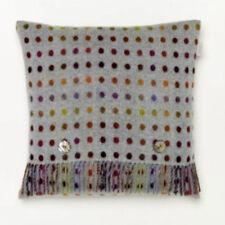 Bronte by Moon 100% Merino Wool Multispot Cushion - Aqua Blue