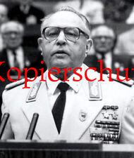 A55 Armeegeneral Erich Mielke MfS Stasi Staatssicherheit DDR  ca. 20x24 cm
