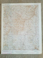 22x29 1943 USGS Topo Map Protem, Missouri Mark Twain National Forest Refuge
