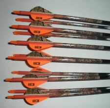 1/2 dozen Gold Tip Expedition Hunter 5575/400 carbon custom arrows w/blazers!