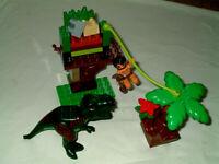 Lego Duplo Zoo Dinosaurier Dino großer T-Rex 5597  komplett Dino Trap
