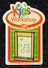 LMH PINBACK Pin  COLLEGE GAME DAY BOARD Football  Home Depot Kids Workshop 2011