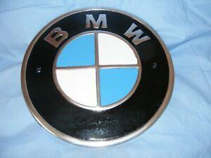 BMW Sign Aluminium Garage Man Cave Wall Logo Sign Car Sign