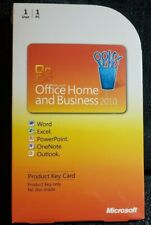Microsoft Office Home & Business 2010 Key Card 1PC 1User  BRAND NEW