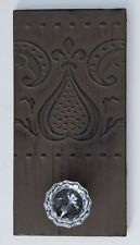 WALL DECOR - CEILING TIN WITH GLASS DOOR KNOB