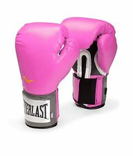 Everlast Women's Pro Style Training Gloves, Pink, 12 oz., Boxing Sparring Mitts