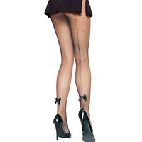 Women Fishnet Clubwear Party Sexy Costume Stocking Nylon Mesh Tights, One Size