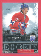 Matt D'Agostini (Habs) 2007-08 Be A Player hockey ROOKIE CARD (only 99 made)
