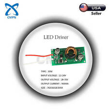 30W High Power Driver Supply AC 12-24V DC 28-35V 900MA Constant Current LED Chip