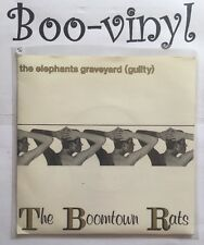 """The Boomtown Rats – The Elephants Graveyard (Guilty) -7"""" Vinyl Record Single EX"""