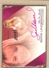 Sara Underwood 2016 Bench Warmer Pink Archive 2011 Hot For Teacher Auto