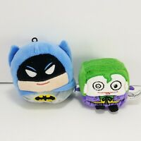 Hallmark DC Comics Fluffball Batman Plush Christmas Ornament Plus Joker Beanie