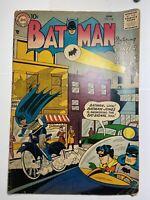 DC Comics Bat Man # 108 W/ Robin And Batman Jones 1957 Vintage Old Comic Book