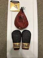 Everlast Speedbag And Gloves