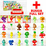 STIKEEZ RUSSIA - Complete 20 PLUS 4 RARE! add to Coles Fresh Stikeez Collection!