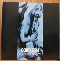 GODFLESH Us And Them CD metal industrial heavy rock goth electronic guitar hard